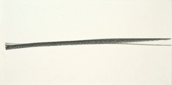 Untitled 4 (line series) 12.2 x 24.4 cm - Two drawings, Graphite on Paper