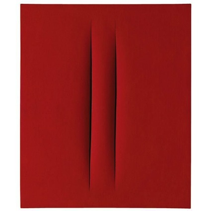 Lucio Fontana - Slash Paintings